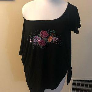 Torrid off shoulder T-shirt size 2